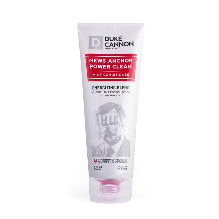 Duke Cannon News Anchor Power Clean Mint Conditioner