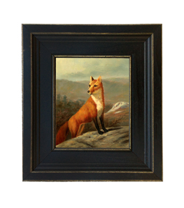 5x6 Red Fox Painting