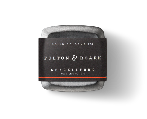 Fulton & Roark Palmetto .2 oz Solid Cologne - Shackleford