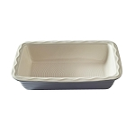 BAKER LANE 31CM GREY RECTANGULAR PIE DISH