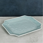 Beatriz Ball Vida Charleston Rectangular Platter Blue Large