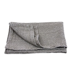 Medium Thick Linen - Stonewashed - Natural with Diamonds