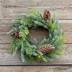 Park Hill Mixed Evergreen Wreath