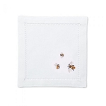 Set of 4 Bees Cocktail Napkins