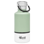 Cheeki 13 oz Classic Insulated Bottle Pistachio/White