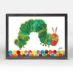 Eric Carle's Very Hungry Caterpillar Mini Framed Canvas