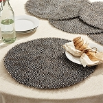 Guinea Fowl Feather Placemat