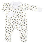 Magnolia Baby Duck Pond Printed Footie