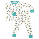 Magnolia Baby Duck Pond Long Pajamas