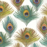 Peacock Cocktail Napkins