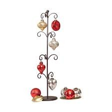 Festival Set of 12 Ornaments & Stand