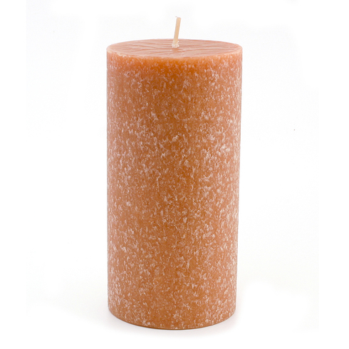 Root Candle - 3x6 Timberline Pillar Rust