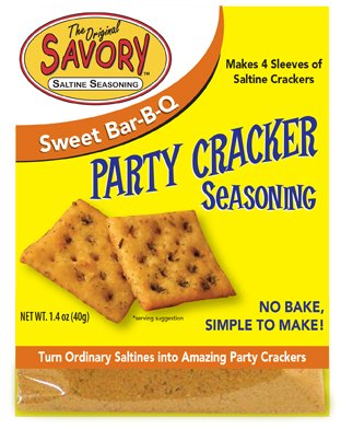 Savory Party Cracker Seasoning - Sweet Bar - B - Q