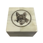 Fox White Bone Box