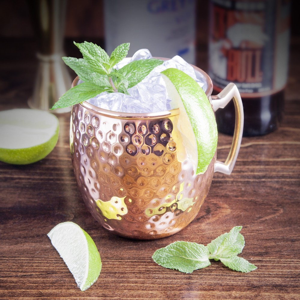 Moscow Mule Hammered Single Wall Cup