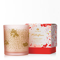 Thymes Millefleur Poured Candle