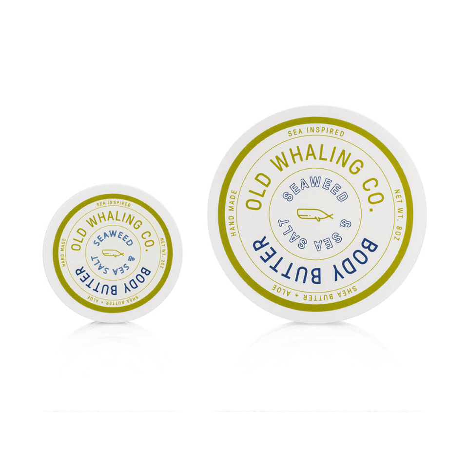Old Whaling Co - Seaweed + Sea Salt 8 oz. Body Butter