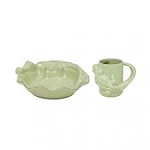Casafina  Alligator Plate & Mug Set