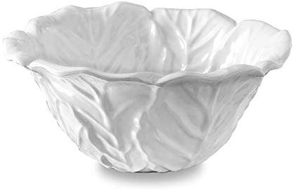 Beatriz Ball White Melamine Large Lettuce Bowl