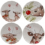 Casafina Deer Friends Dinner Plate