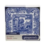 Portmeirion Blue Italian Coasters Set of 6