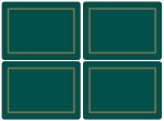 Classic Emerald Placemats Set of 4 - Pimpernel