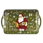 Christmas Tree Melamine Tray Cookies For Santa - Spode