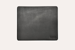 Black Leather Mouse Pad - Kiko Leather