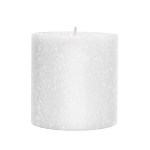 Root Candle - 3x3 Timberline Pillar White