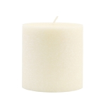 Root Candle - 3x3 Timberline Pillar Ivory