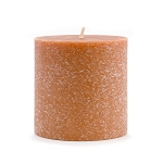 Root Candle - 3x3 Timberline Pillar Rust