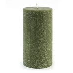 Root Candle - 3x6 Timberline Pillar Dark Olive