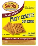 Savory Party Cracker Seasoning -Texas Chipotle
