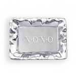 Beatriz Ball - Vento Rectangle Engraved XOXO Tray