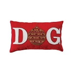Ornamental Dog Pillow 12x20