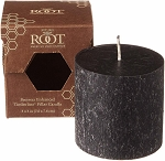 Root Candle - 3x3 Timberline Pillar Black