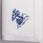 Henry Handiwork Canton Blue Napkins, set of 4