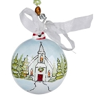 Christmas Church Ornament - Glory Haus