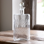 Etched Glass Decanter