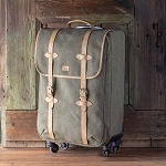 Carry-On Rolling Suitcase, Canvas