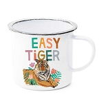 Easy Tiger Enamel Mug