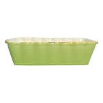 Vietri Italian Medium Rectangular Baker - Green