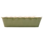 Vietri Italian Large Rectangular Baker - Green