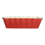 Vietri Italian Medium Rectangular Baker - Red