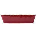 Vietri Italian Large Rectangular Baker - Red