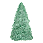 Vietri Lastra Holiday Figural Tree Small Platter