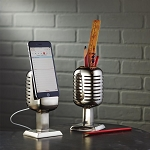 Microphone Pencil/Cell Phone Holder