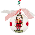Nutcracker Red Ornament - Glory Haus