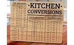 Two's Company Wooden Kitchen Conversion Cutting Board