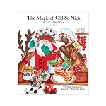 Vietri Old St. Nick The Magic of Old St. Nick: Buon Appettito Children's Book